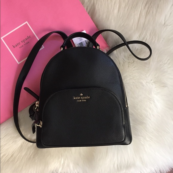kate spade Handbags - Kate Spade Small Leather Backpack